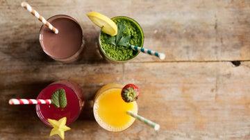 Apetecibles zumos detox