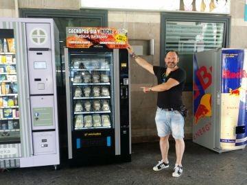 La máquina de Cachopomatic de Atocha.