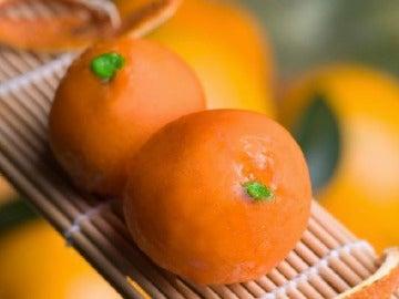Parecen mandarinas pero...