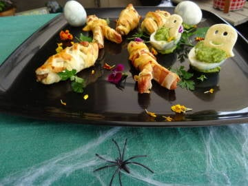 Aperitivos salados para Halloween