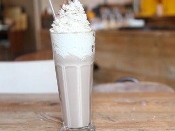 Milkshake de plátano y Nutella
