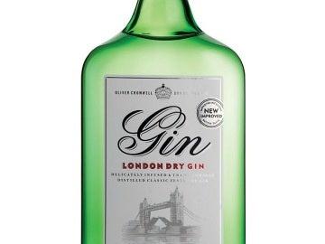 La ginebra Oliver Cromwell London Dry Gin