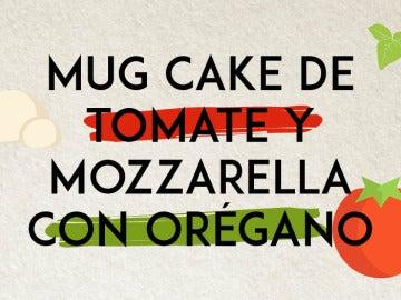 Mug cake salado