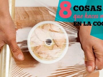 Curiositips cocina - 8 Cosas que haces mal en la cocina