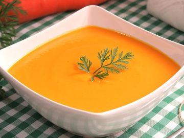 Crema de Zanahoria muy Fácil Rápida y Deliciosa