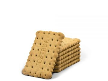 Las sencillas galletas tostadas.