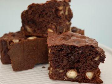 Este bizcocho de chocolate es, encima, sano.