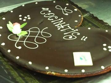 Palmeras de chocolate gigantes