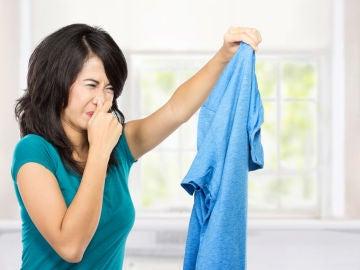 El mal olor de la ropa