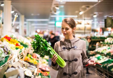 Frutas y verduras supermercado