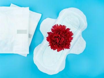 Imagen de archivo representando la menstruación.