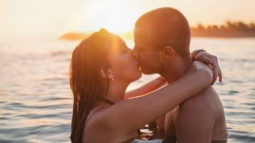 Besos en el agua