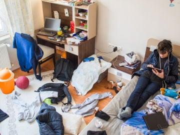 Habitación de adolescente