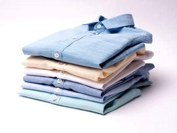El truco para doblar camisas