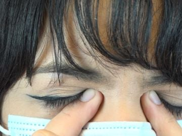 Ojos irritados
