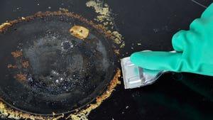 Limpiando vitro