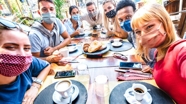 Celebración en pandemia