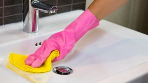 Limpieza de baño