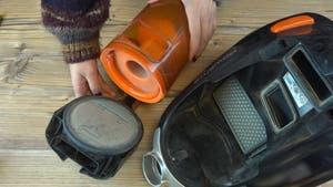 Limpiar filtro de la aspiradora