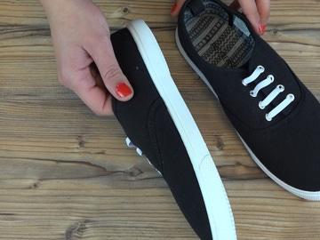 Blanquear la suela del zapato