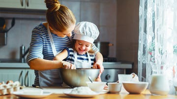 Cocinando con peques