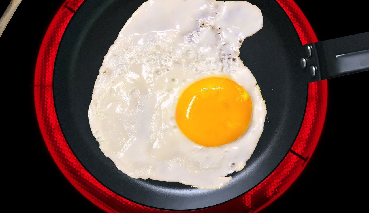 Huevo frito a la plancha