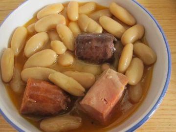 Un plato de fabada en condiciones