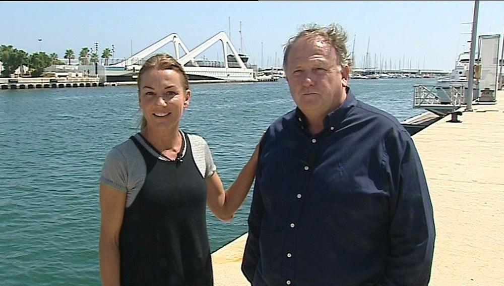 Bárbara Amorós junto a Pedro García Moncholí