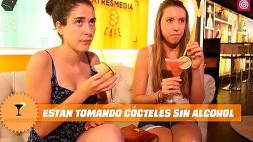 ¿Sabrán estas chicas que toman cócteles sin alcohol?