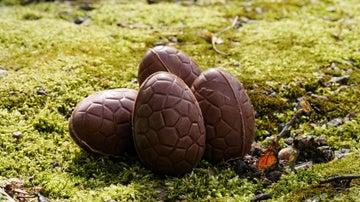 Un huevo de chocolate... fácil de hacer.