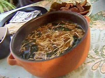 Una sopa asiática para los días de frío