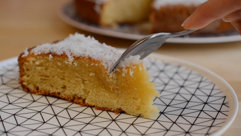 Métele mano a este pastel de coco. Está de 10