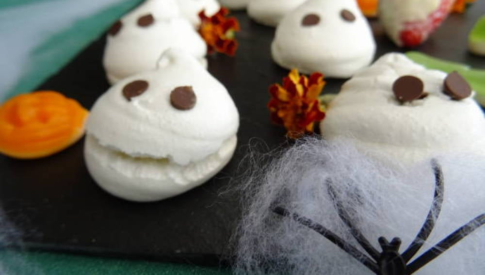 Fantasmitas dulces para Halloween
