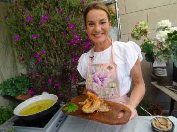 Bárbara Amorós cocina un delicioso pulpo
