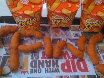 Los Mac n' Cheetos, en todo su esplendor.