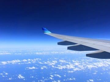 Vistas desde la ventanilla del avión