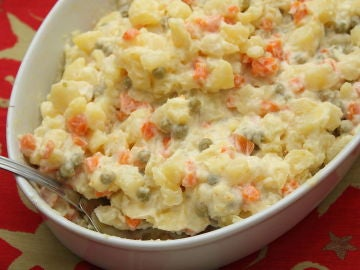 La ensaladilla rusa, uno de los grandes platos del tapeo.
