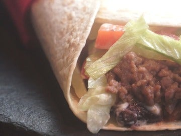 El fastuoso burrito Supreme de  Taco Bell en versión de Yumland.