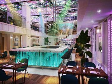 Restaurante de Pitbull en Miami