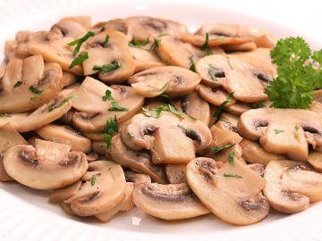Champiñones Salteados   Receta deliciosa y súper rápida!