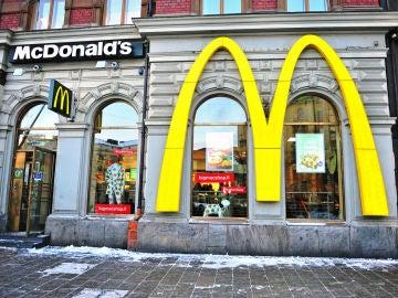 Una restaurante de McDonalds