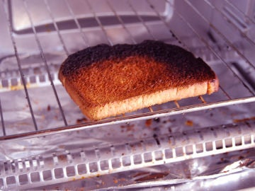 Tostada quemada