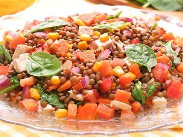 Ensalada de Lentejas | Receta muy Fácil, Deliciosa y Fresca | Cocina con Carmen