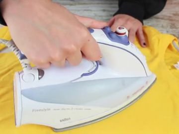 ¿La plancha ensucia tu ropa? Causas y soluciones