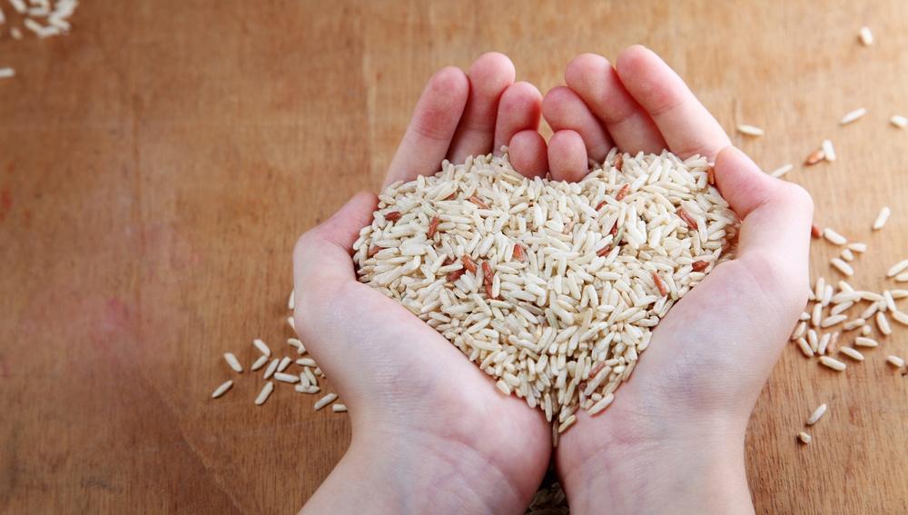 El arroz es un remedio natural excelente