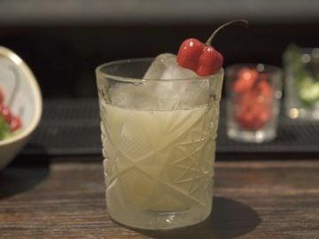 Coctel picante de pisco, de Totora