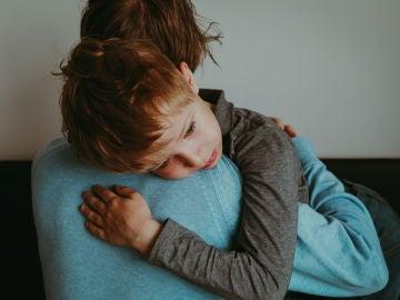 Niño con dolor