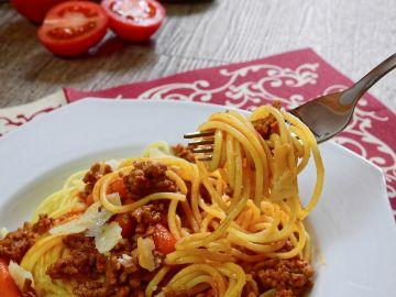 Un plato de espaguetis (Archivo)