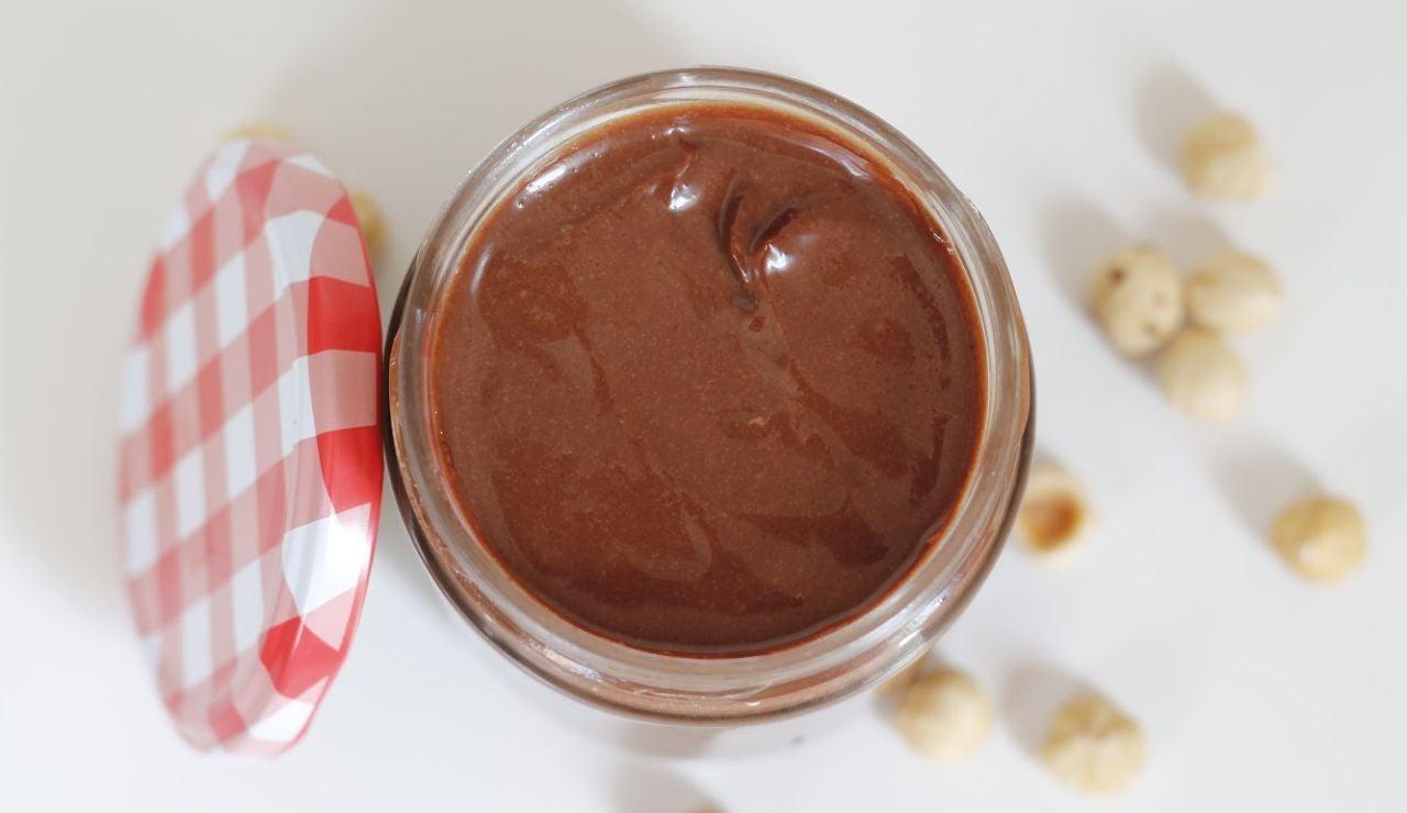 Crema de cacao sin gluten y sin lactosa
