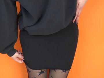 Chica con falda